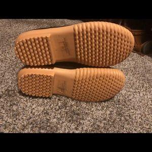 Nature Breeze Shoes - Brown Duck Boots Ladies size 8
